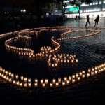 Mahnwache Oldenburg im Zuge der Klima-Aktionswochen. Ein Licht für das Klima